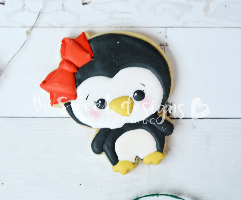 Plush Girly Penguin - Cutter