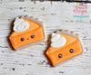 Kawaii Pumpkin Pie Slice