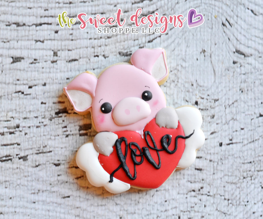 Pig Plaque - Cutter