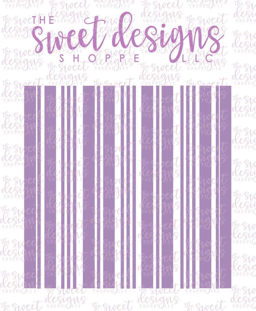 Plaid Layered Stencils ( Set of 2 Stencils) V2