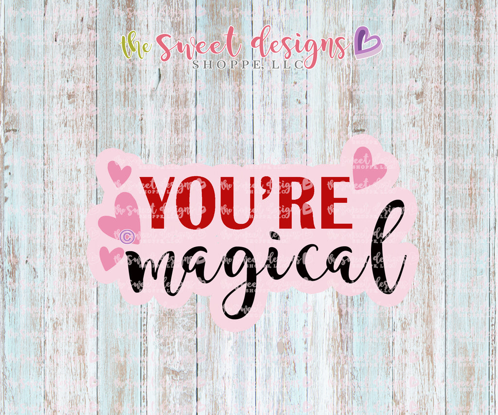 You Are Magical Plaque - Cutter