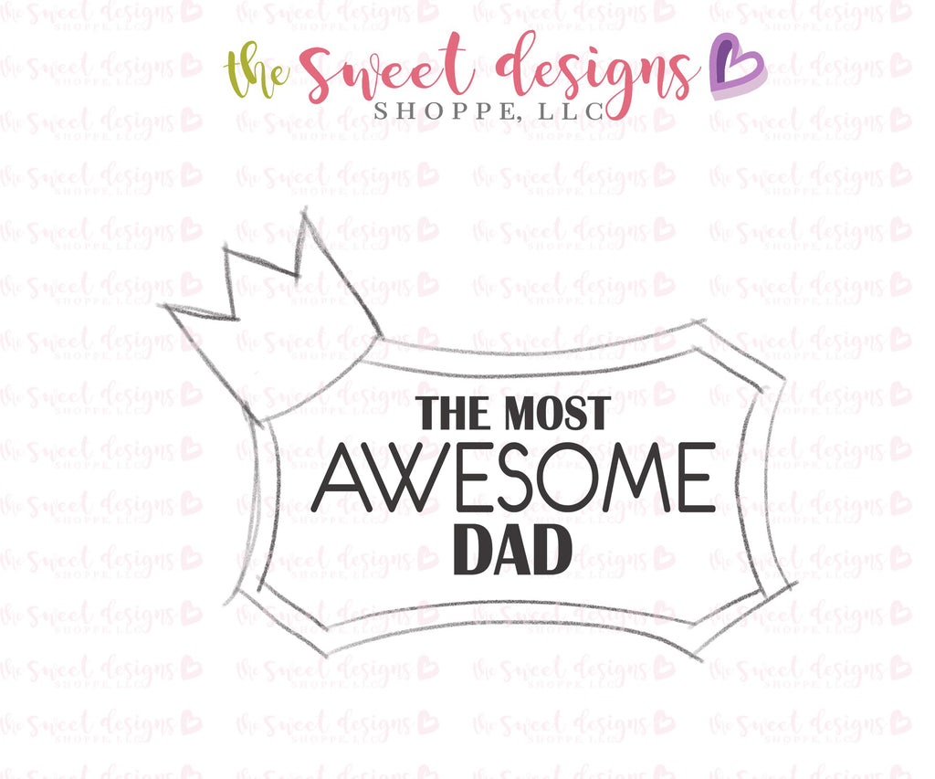 Awesome Dad - Cutter