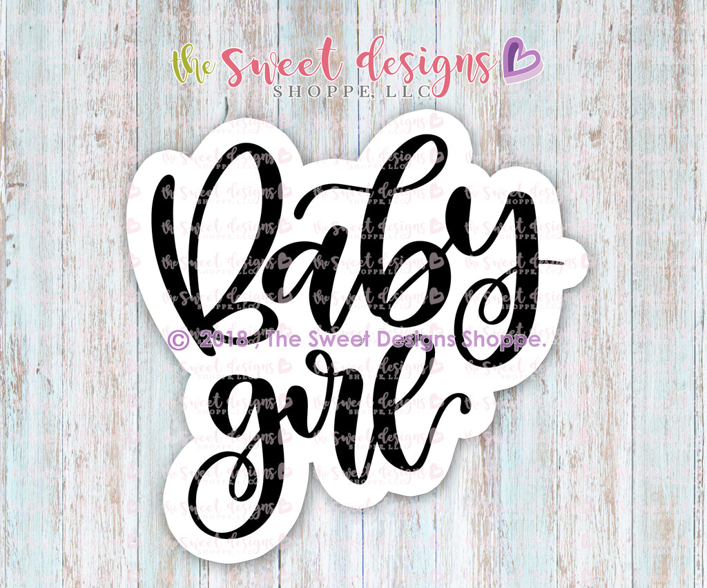 Baby Girl Plaque - Cutter