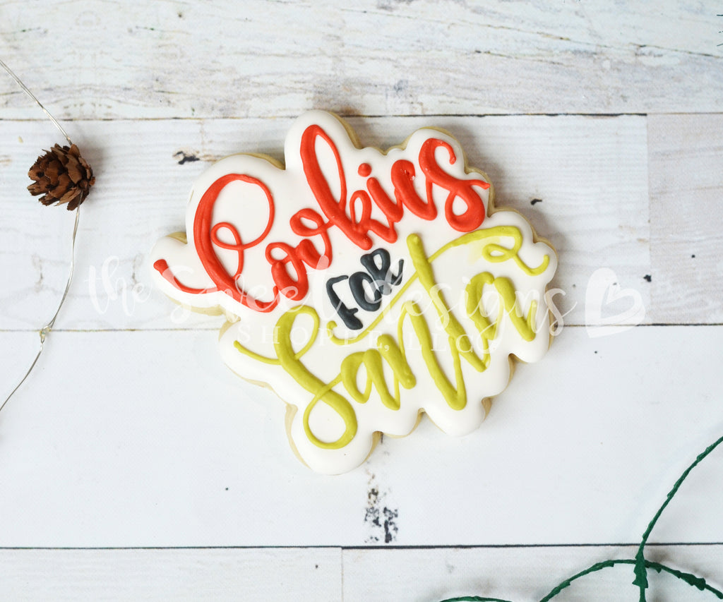 Cookies for Santa -  Bundle   (Cutter & Stencil)