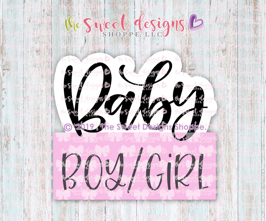 Baby Name Plaque 2019 - Cutter