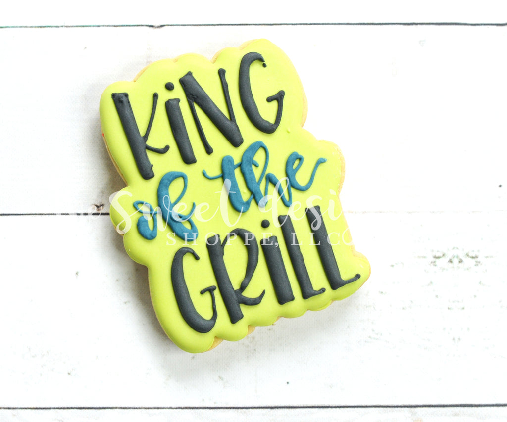 King of the Grill Plaque - Cutter