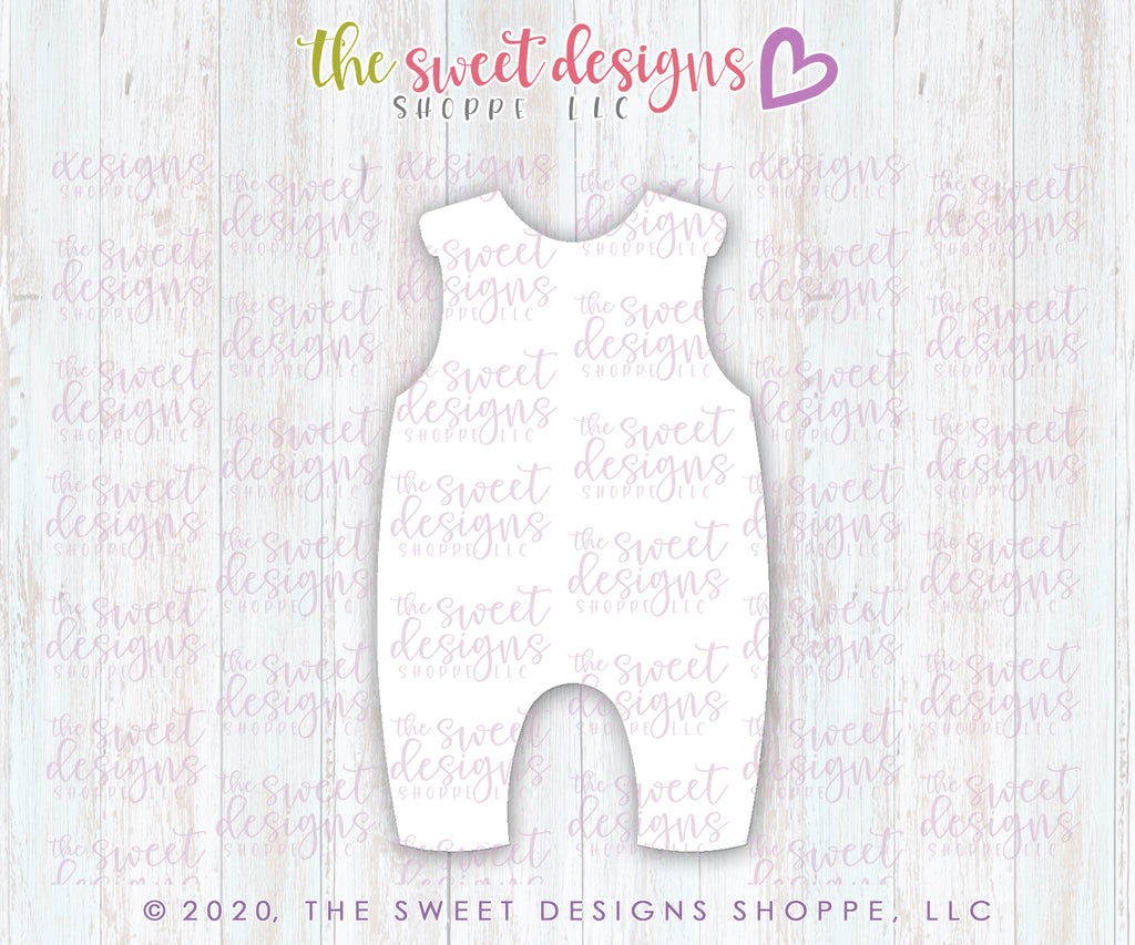 Sleeveless Baby Romper - Cutter