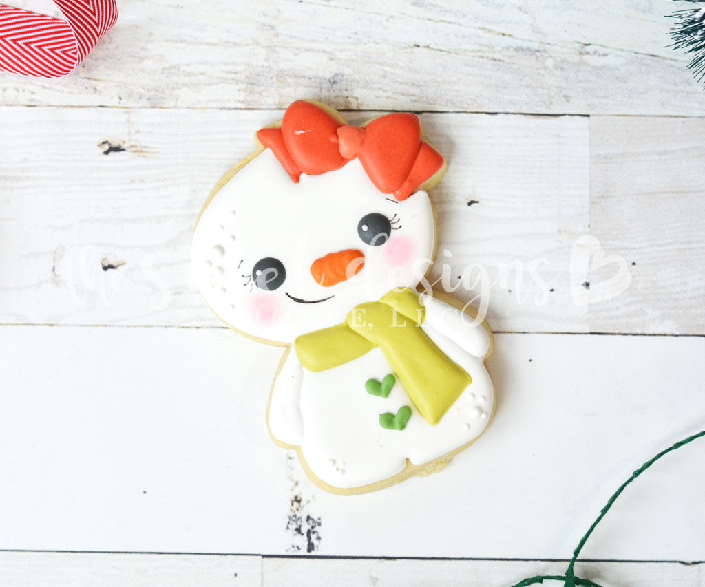 Cute Gingergirl / Snowgirl 2018 - Cutter