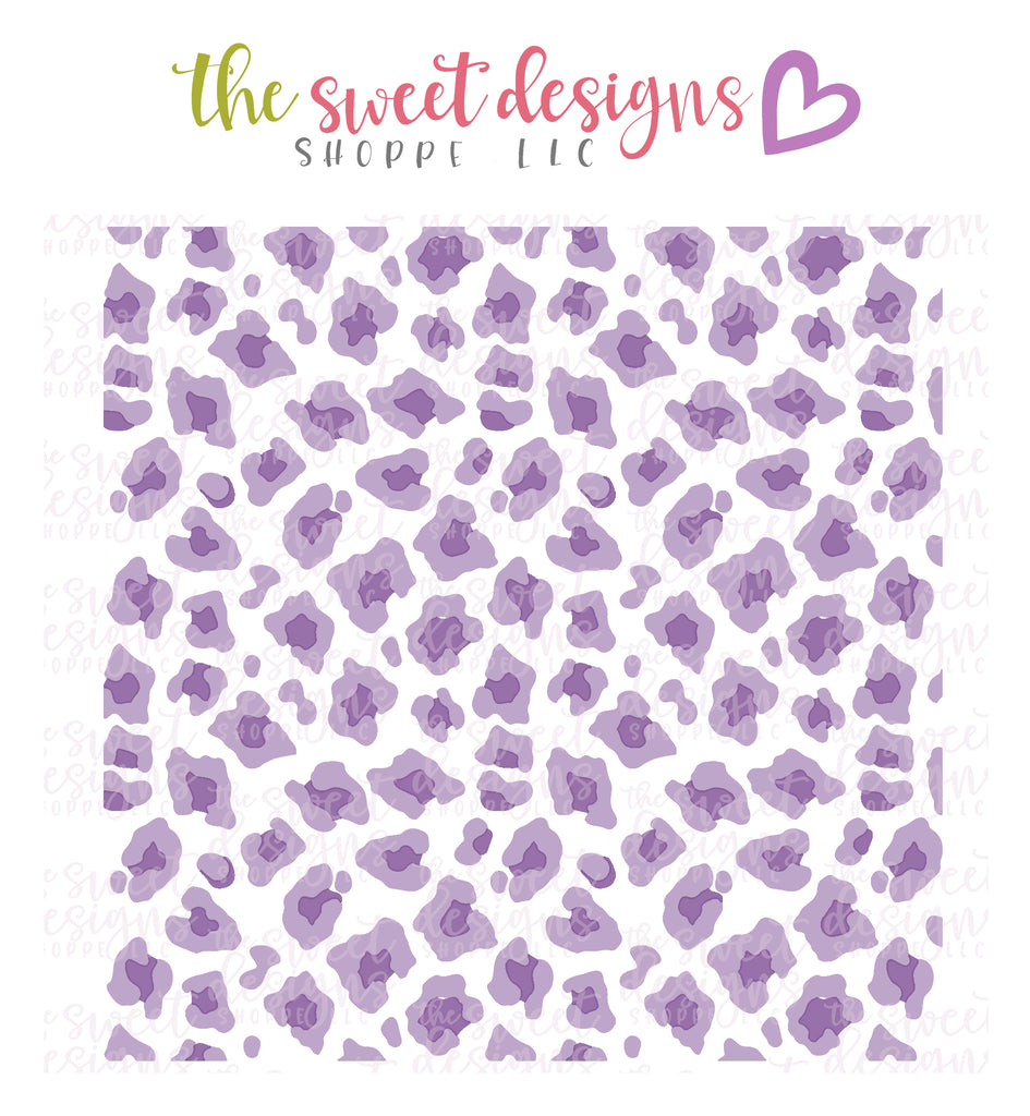 Leopard Pattern (Set of 2) -  Stencil