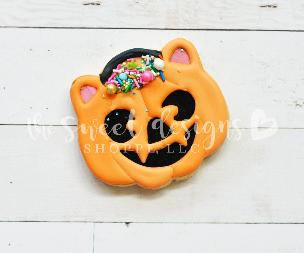 Trick or Treat Kitty Bag - Cutter