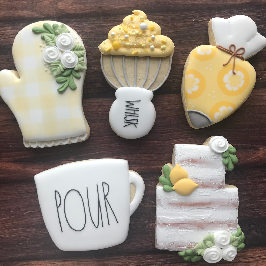 Lemon Baking Online Class - Maddie's Cookie Co. - Set of 5 Cutters