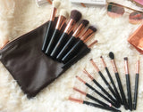 Rose Gold Makeup Brushes