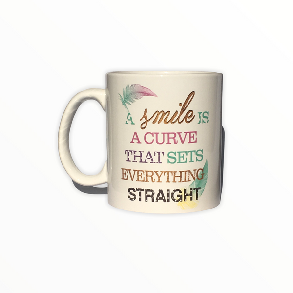 Just Smile Mug Coffee Mug
