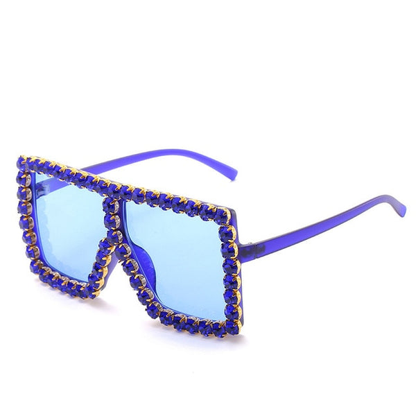 """Diamond Princess"" Rhinestone Sunglasses"
