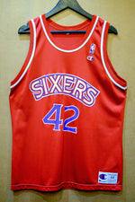 Load image into Gallery viewer, Vintage Champion Sixers Stackhouse Jersey