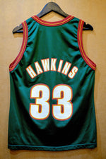 Load image into Gallery viewer, Vintage Champion Sonics Hawkins Jersey