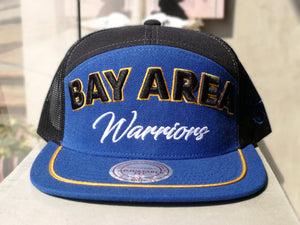 Mitchell & Ness GSW Snapback City Heat HWC/Blue