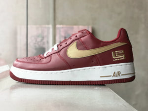 Nike Airforce 1 Low Lebron Qs Cavs 2003