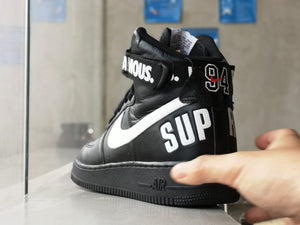 Nike Air Force One High x Supreme Black 2014