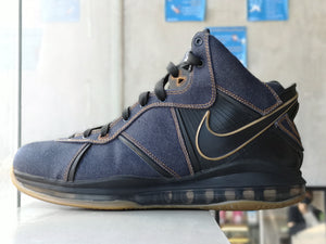 Nike Lebron 8 Clark Kent James Dean Denim Promo Sample