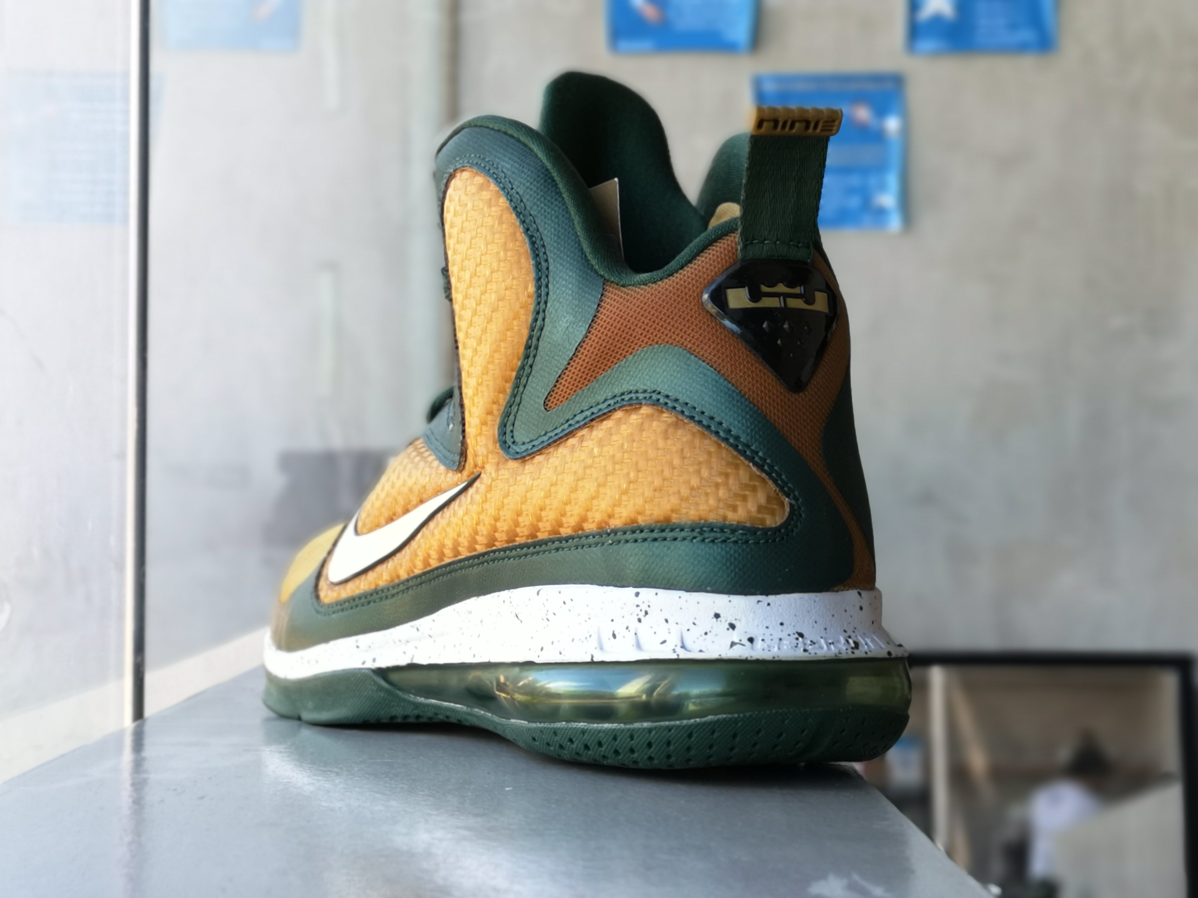 Nike Lebron 9 Svsm Away Promo Sample