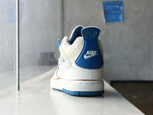 Air Jordan 4 OG Military Blue 1989 Toddler