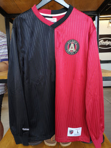 Mitchell & Ness Atlanta United FC Long Sleeve Jersey MLS/Black & Red