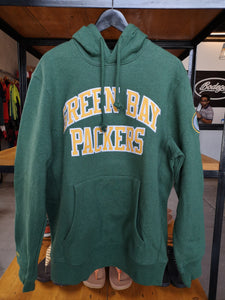 Mitchell & Ness Green Bay Packers Pullover Hoodie Sweat Playoff Win
