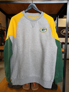 Mitchell & Ness Green Bay Packers Crew Neck Long Sleeve