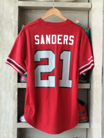 Load image into Gallery viewer, Mitchell & Ness Atlanta Falcons Crew Neck Jersey Deion Sanders