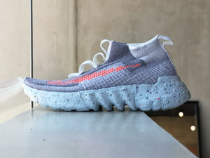 Nike Space Hippie 02 Grey/Total Crimson