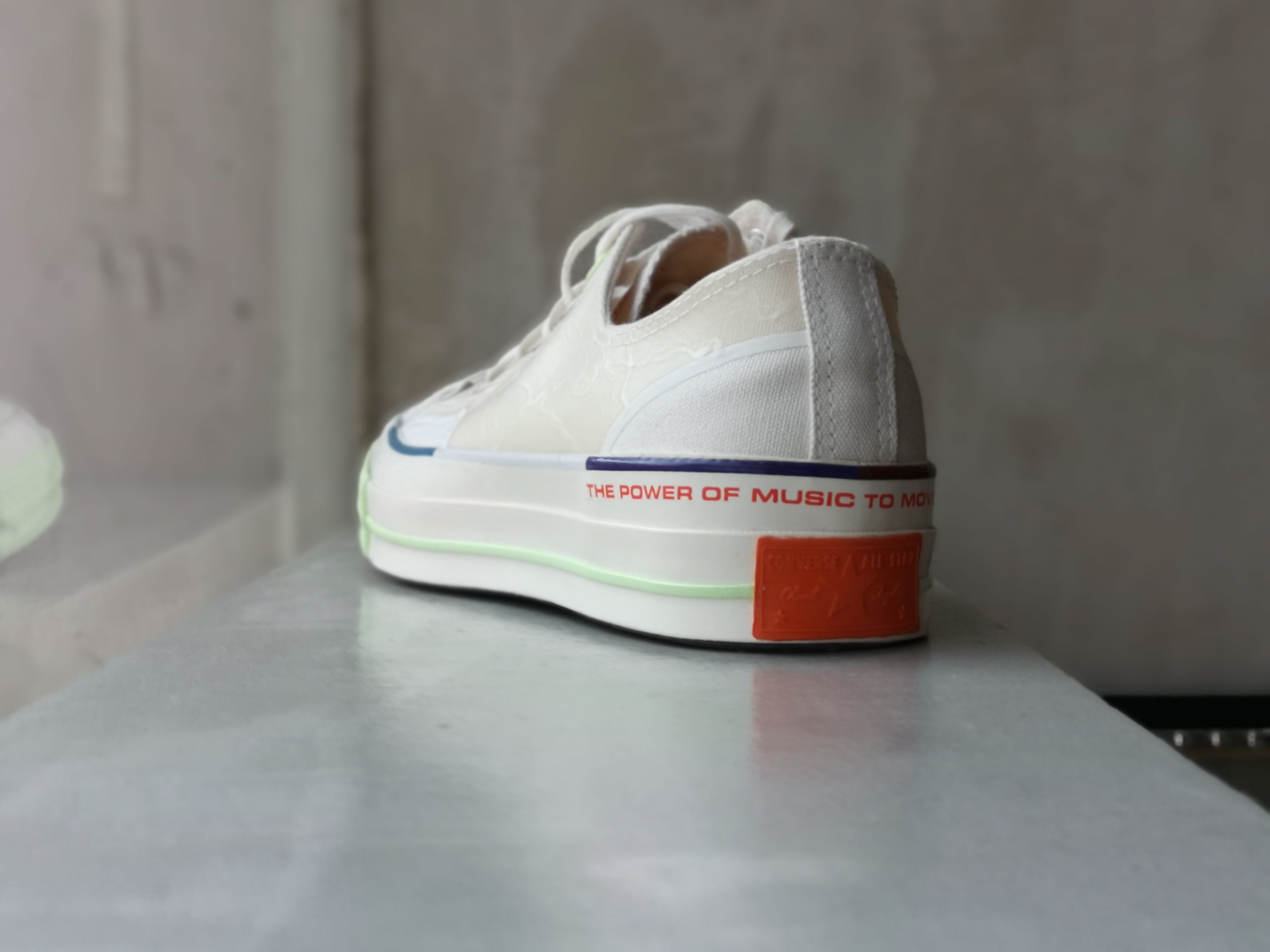 Converse Chuck 70 OX White x Pigalle