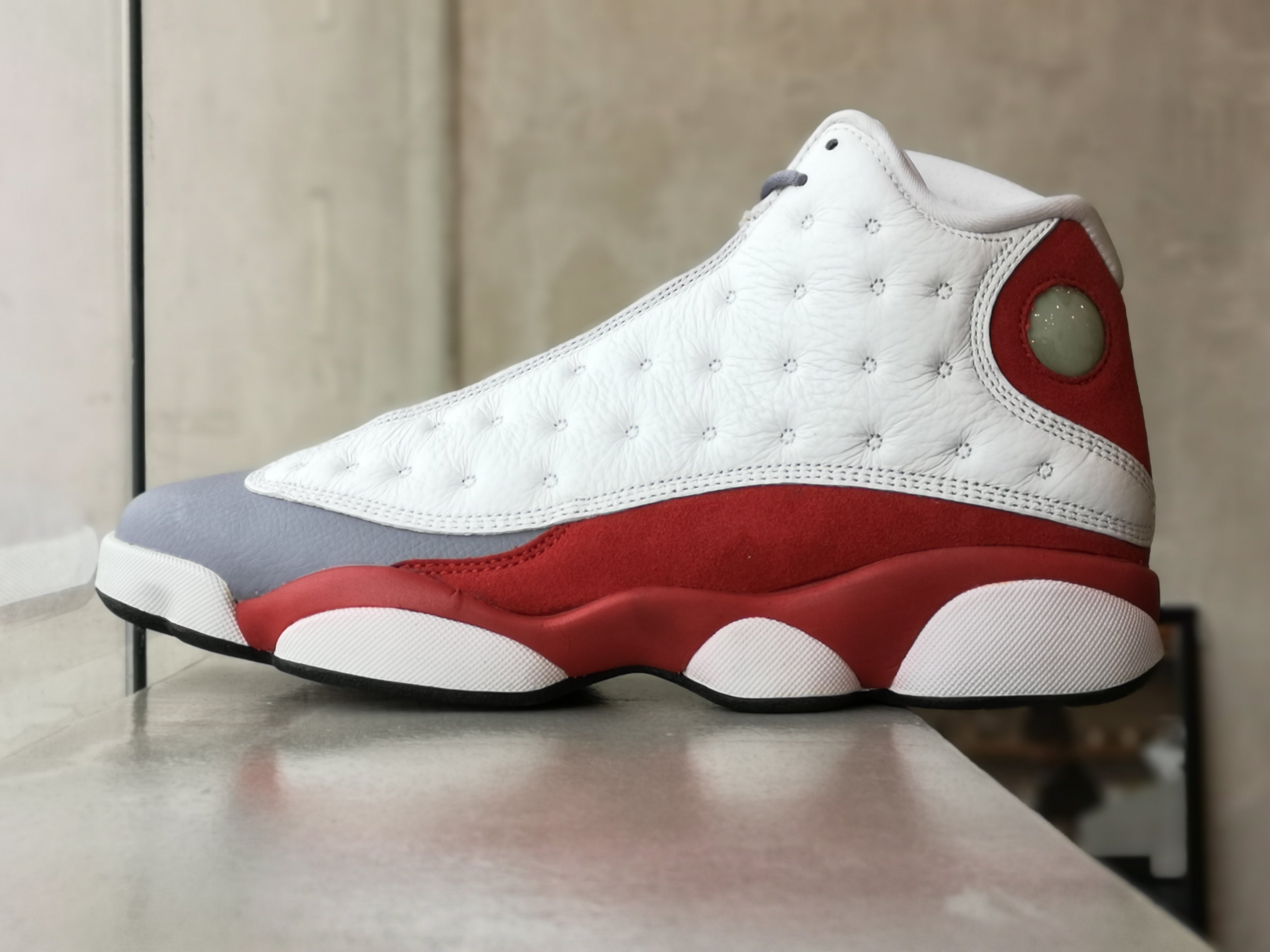 Air Jordan 13 Retro Grey Toe 2014