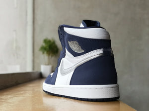 Air Jordan 1 High Retro COJP Navy Blue 2020