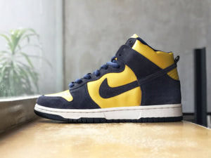 Nike Dunk High SB Michigan 2005 Sample