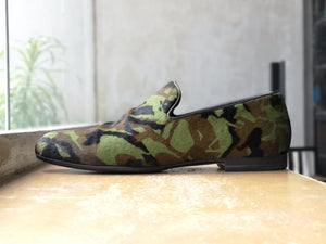 Jimmy Choo Sloane Calf Hair Camo