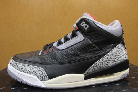 Air Jordan 3 Black Cement 2001