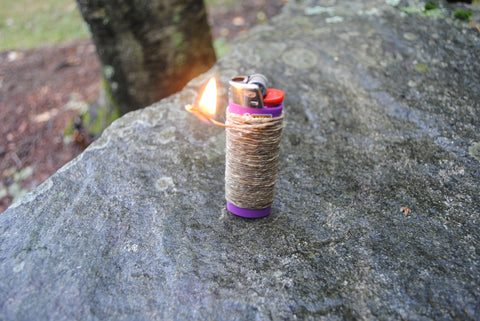 Twisted Bee Hemp Wick Lighter Wrap