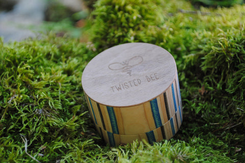 Twisted Bee Wooden Grinder