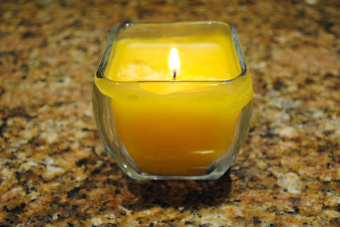 Twisted Bee Candle
