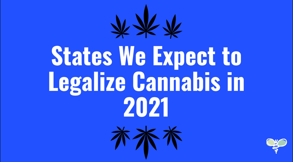 States We Expect to Legalize Cannabis in 2021