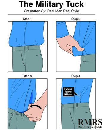 How to military tuck