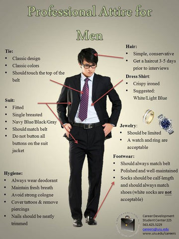 best color suit for interview men