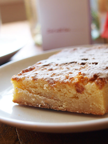 Blondie slice - Velvety White Chocolate need we say more!