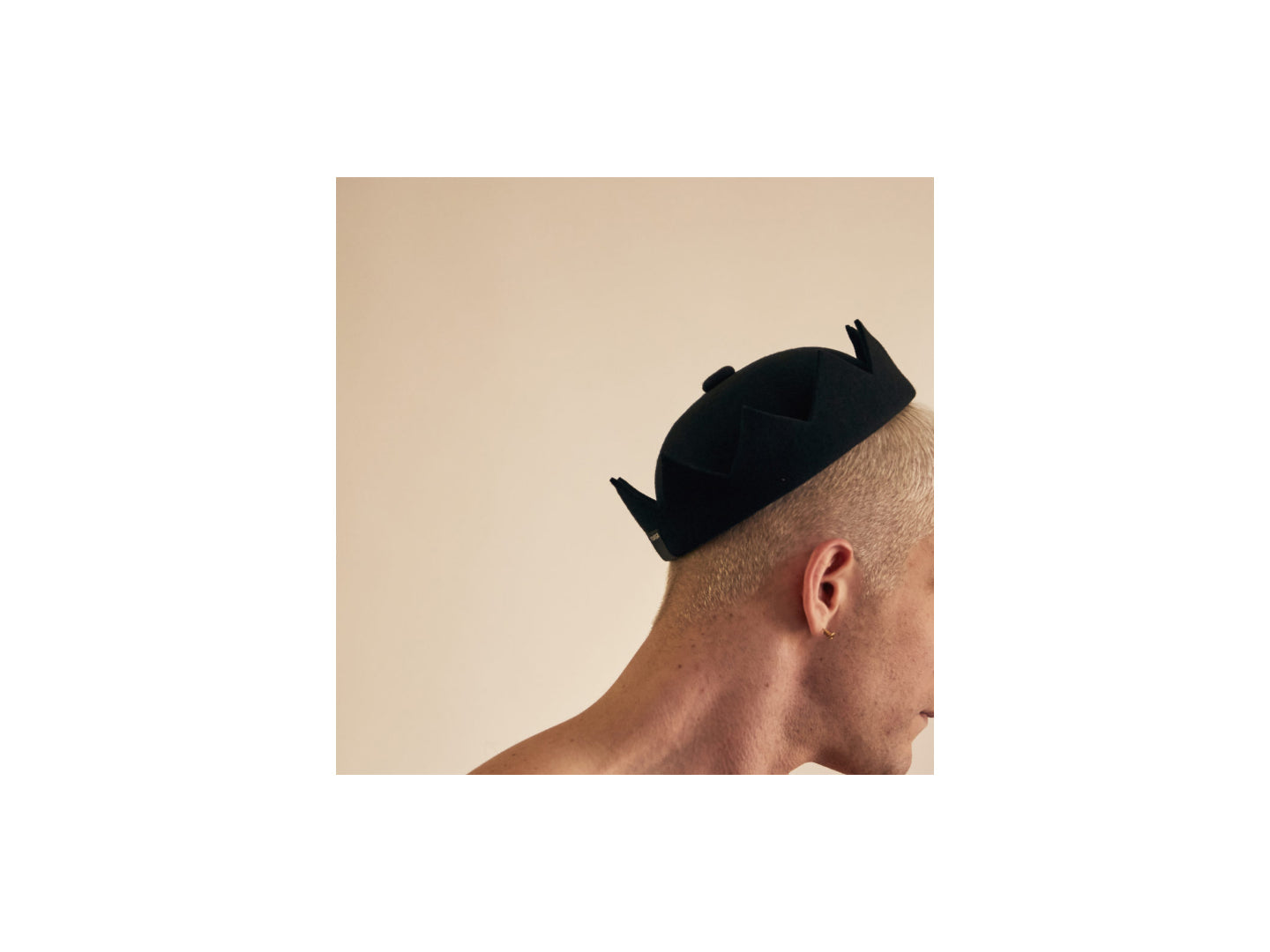 Crown Hat - Black