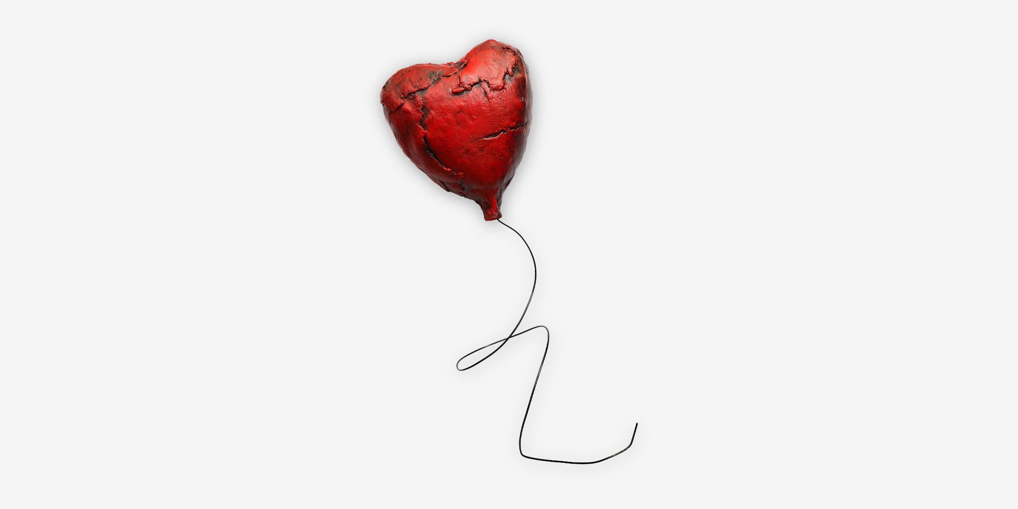 ART - LIMITED EDITION HEART BALLOON (SMALL)