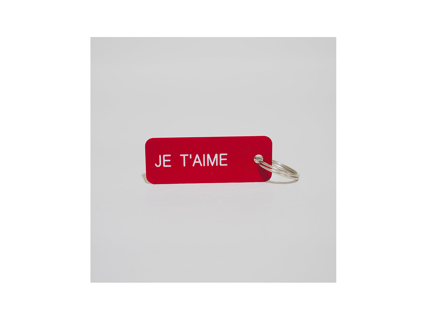 I Love You Key Tags (English, French, Spanish, Chinese, Arabic)