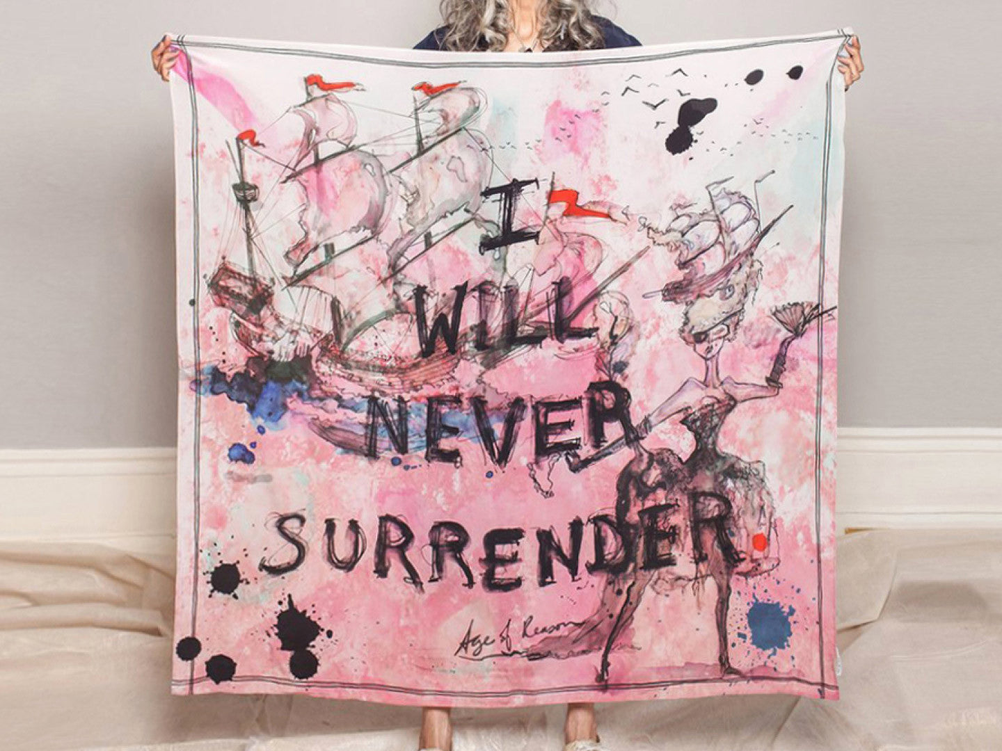 I Will Not Surrender Scarf