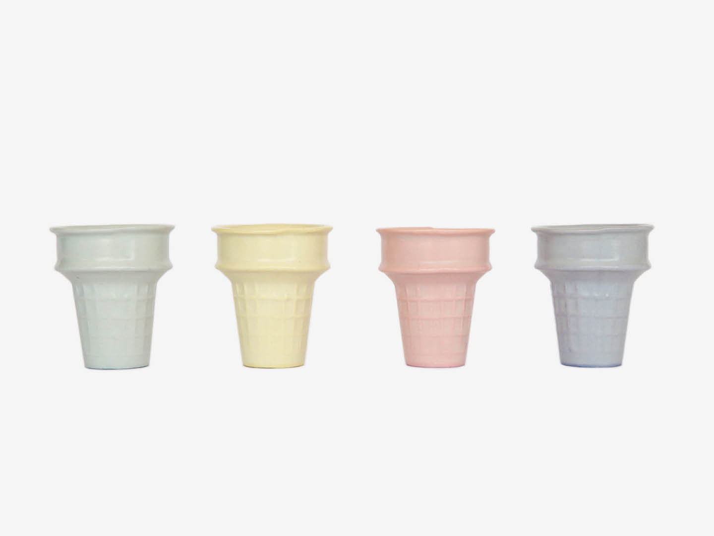 Pastel Ice Cream Cones