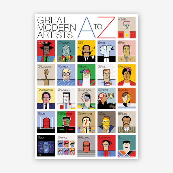 A–Z of Great Modern Artists
